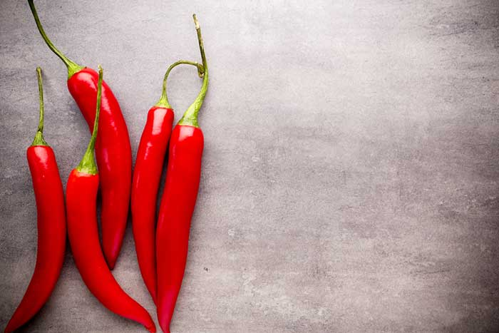 Chilli Pepper contain Vitamin A