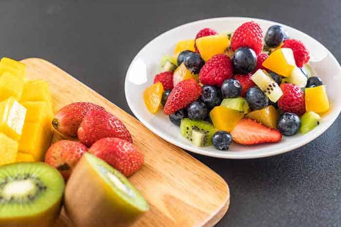 Fruit is great for burning fat