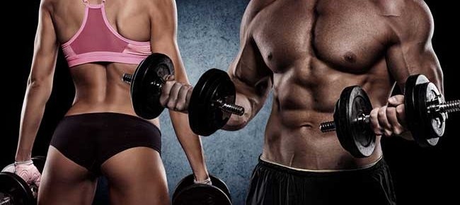 Muscle building size or strength