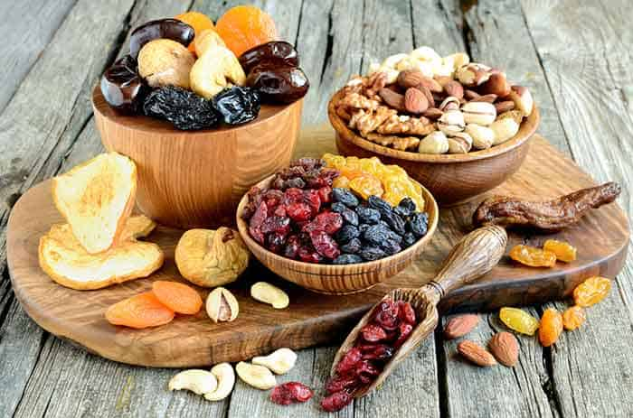 Nuts can cause food allergies