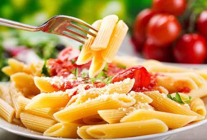 Pasta and carbs
